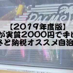 【2019年度版】釣り具が実質2000円で手に入る!ふるさと納税オススメ自治体5選