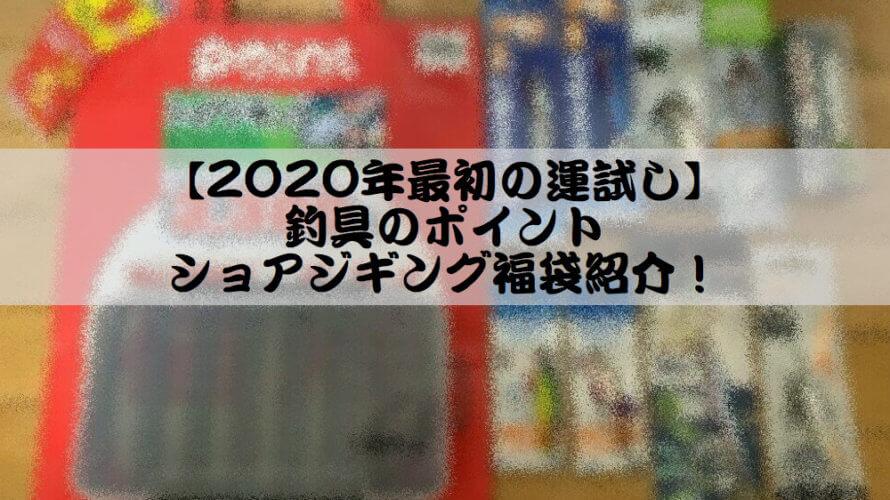 【2020年最初の運試し】釣り具のポイント ショアジギング福袋紹介!